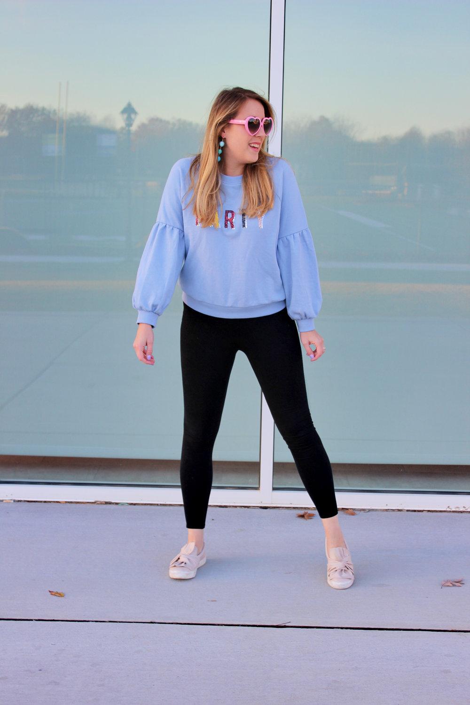 Stay Fancy in a Sequin Party Sweatshirt - Wear She Blossoms