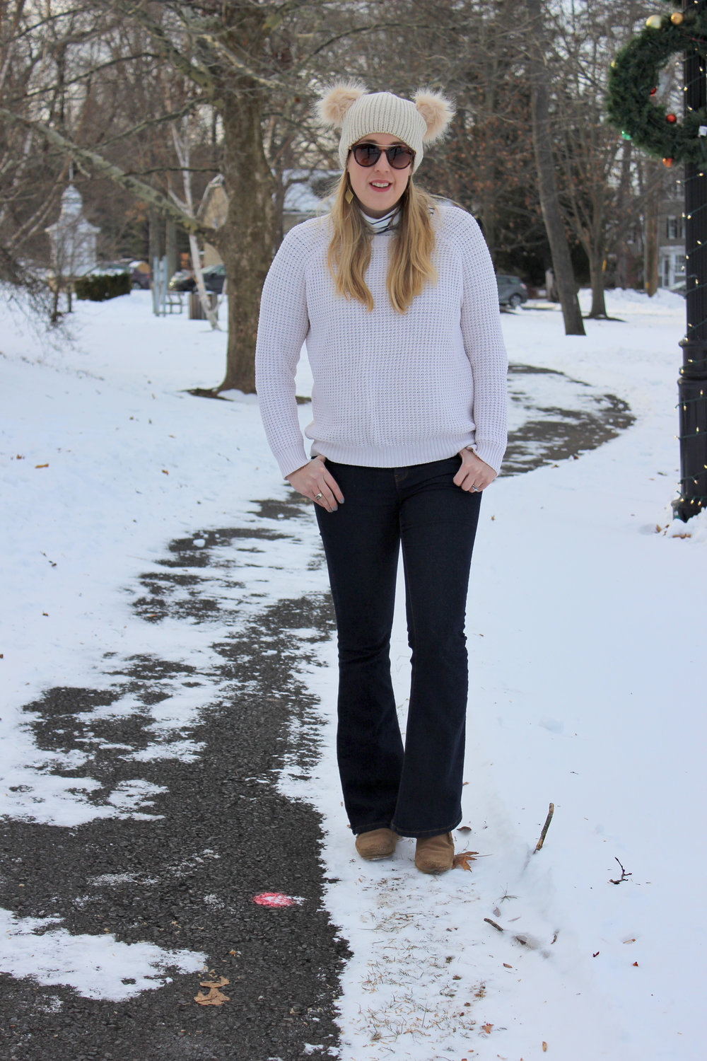 Eighties Inspired Winter Style - wear she blossoms