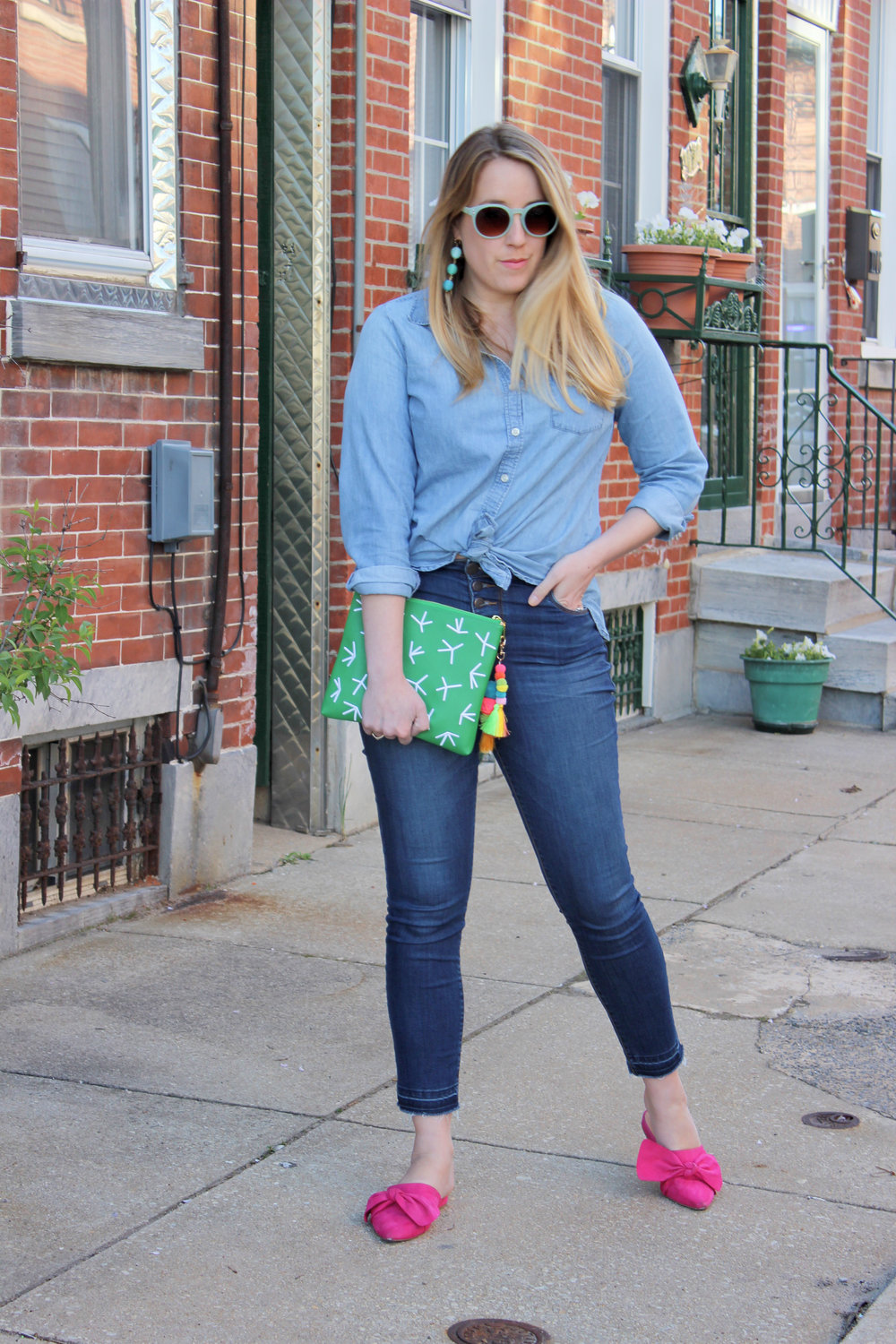 My Favorite Places to Shop for Affordable Jeans - wear she blossoms