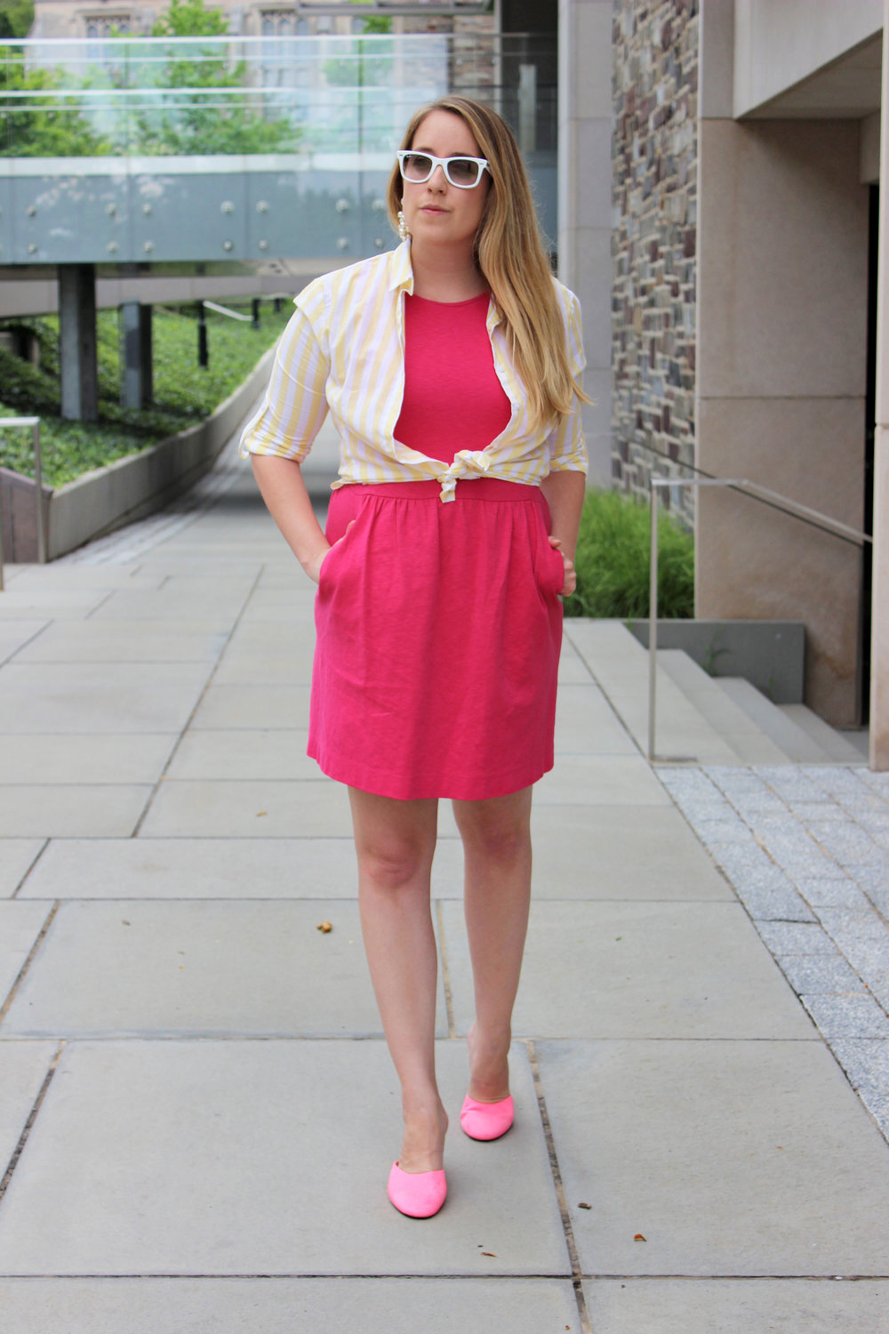 Dressing for Work in the Summer - wear she blossoms