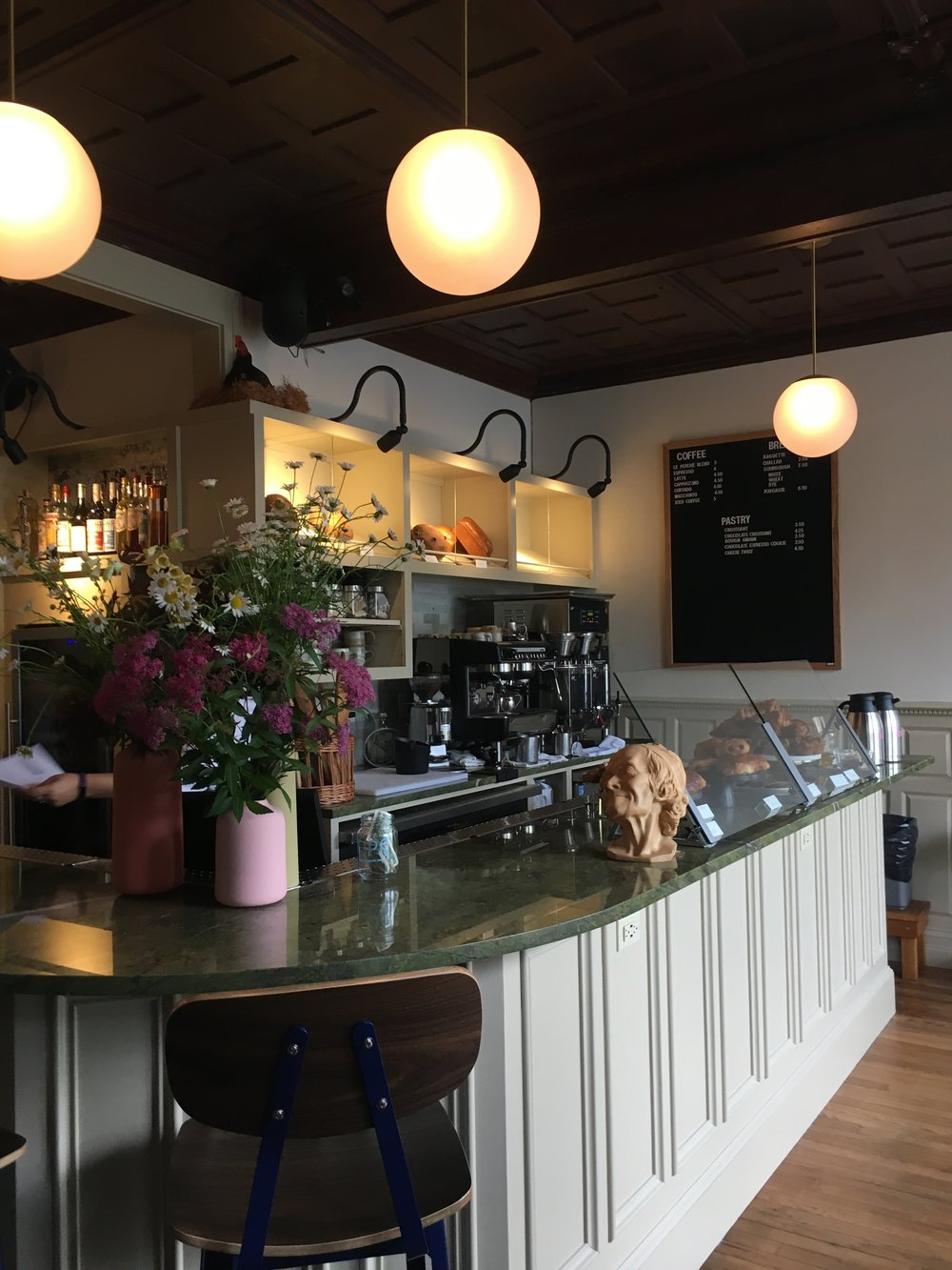 Cafe Le Perche - What to See, Do, and Eat in Hudson, NY - wear she blossoms
