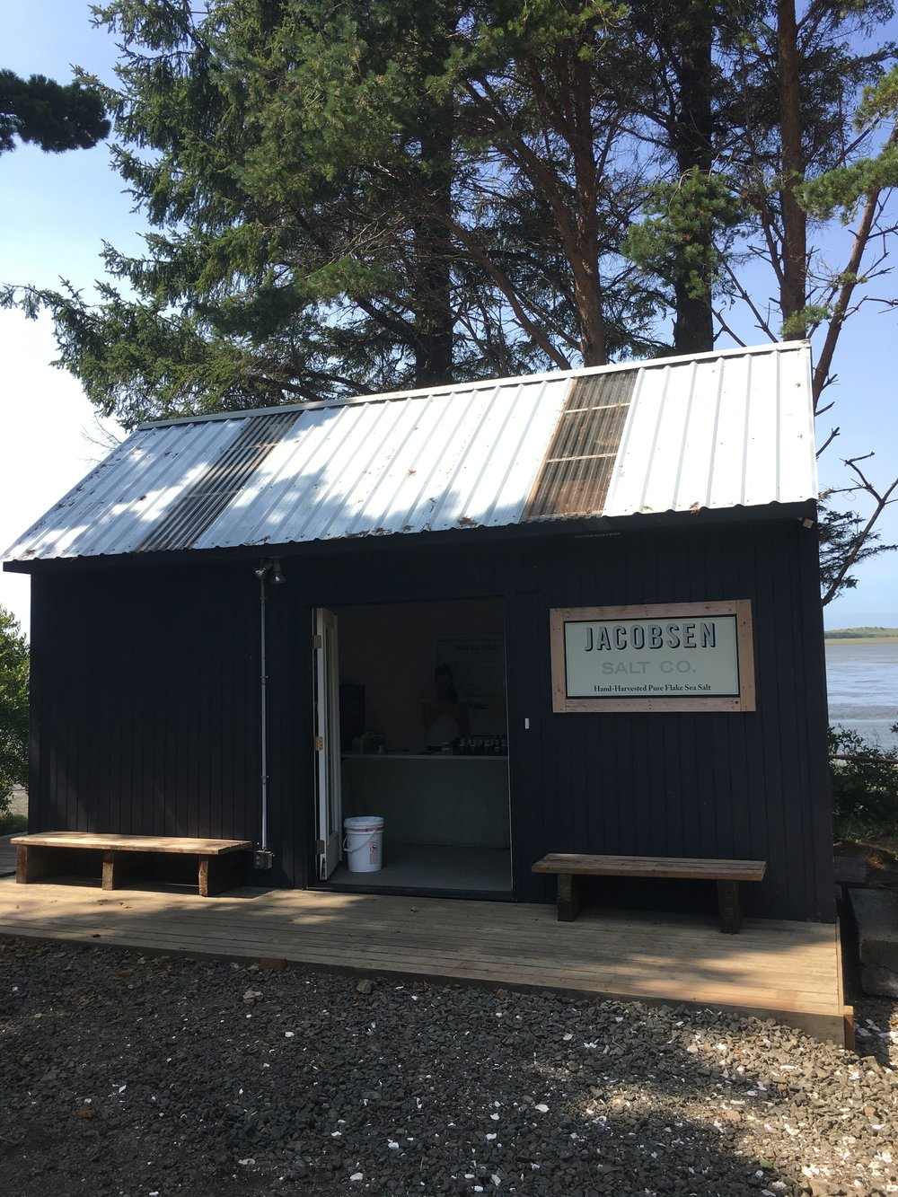 How to Spend Two Perfect Day on the Oregon Coast: Jacobsen Salt Co. in Netarts Bay