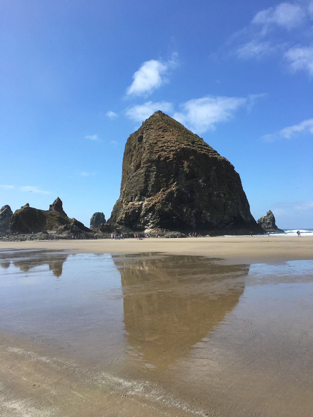 How to Spend Two Perfect Day on the Oregon Coast: Haystack Rock, Cannon Beach