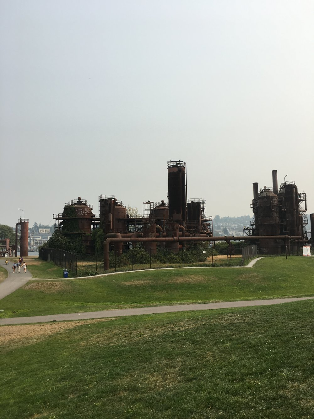 What to See, Eat, and Do in Seattle: Gas Works Park - wear she blossoms