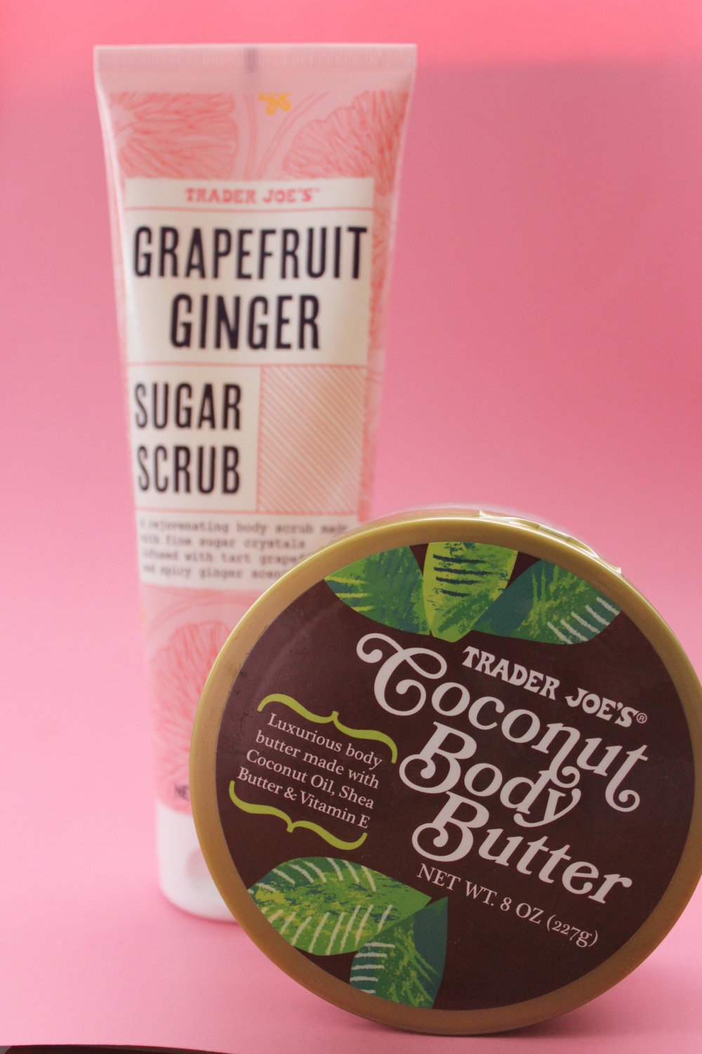 What I'm Loving From Trader Joe's in October: their Coconut Body Butter smells sooo good!