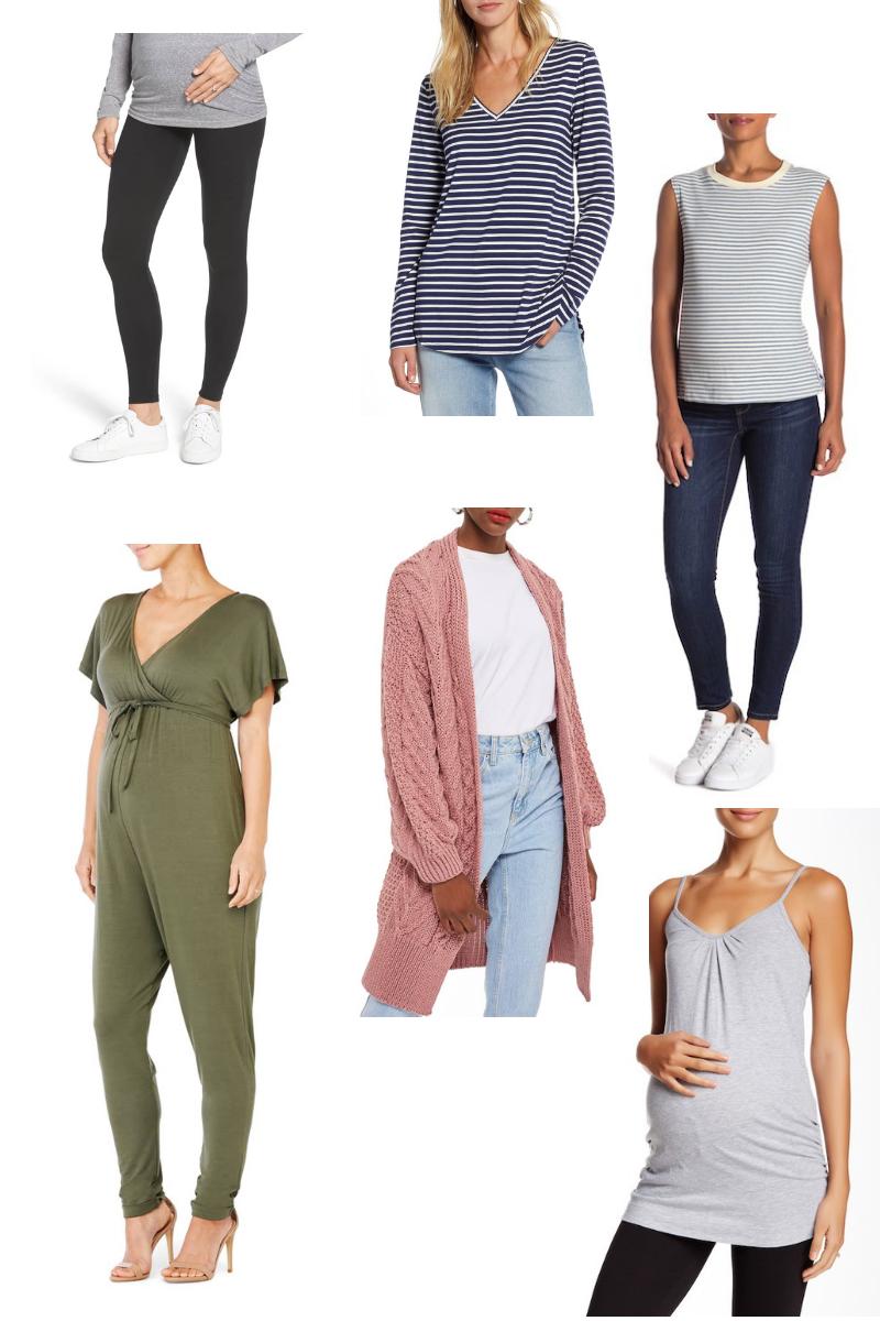 How I Built a Fall Maternity Wardrobe - wear she blossoms