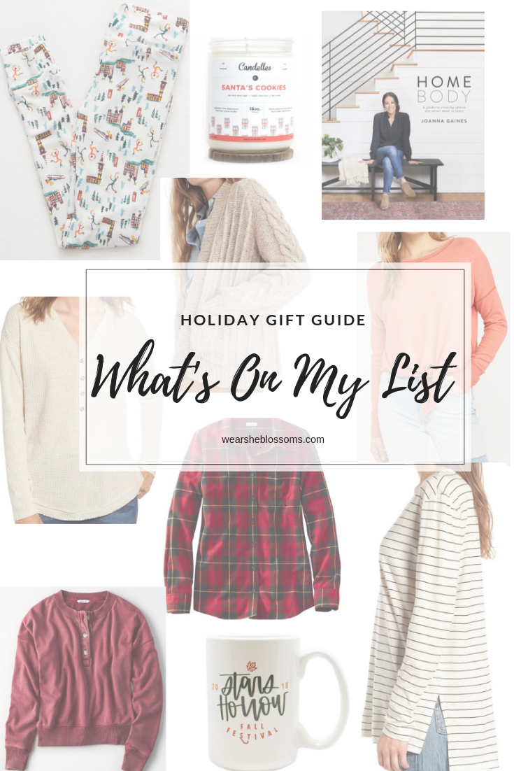 Holiday Gift Guide: What's On My Christmas List - wear she blossoms