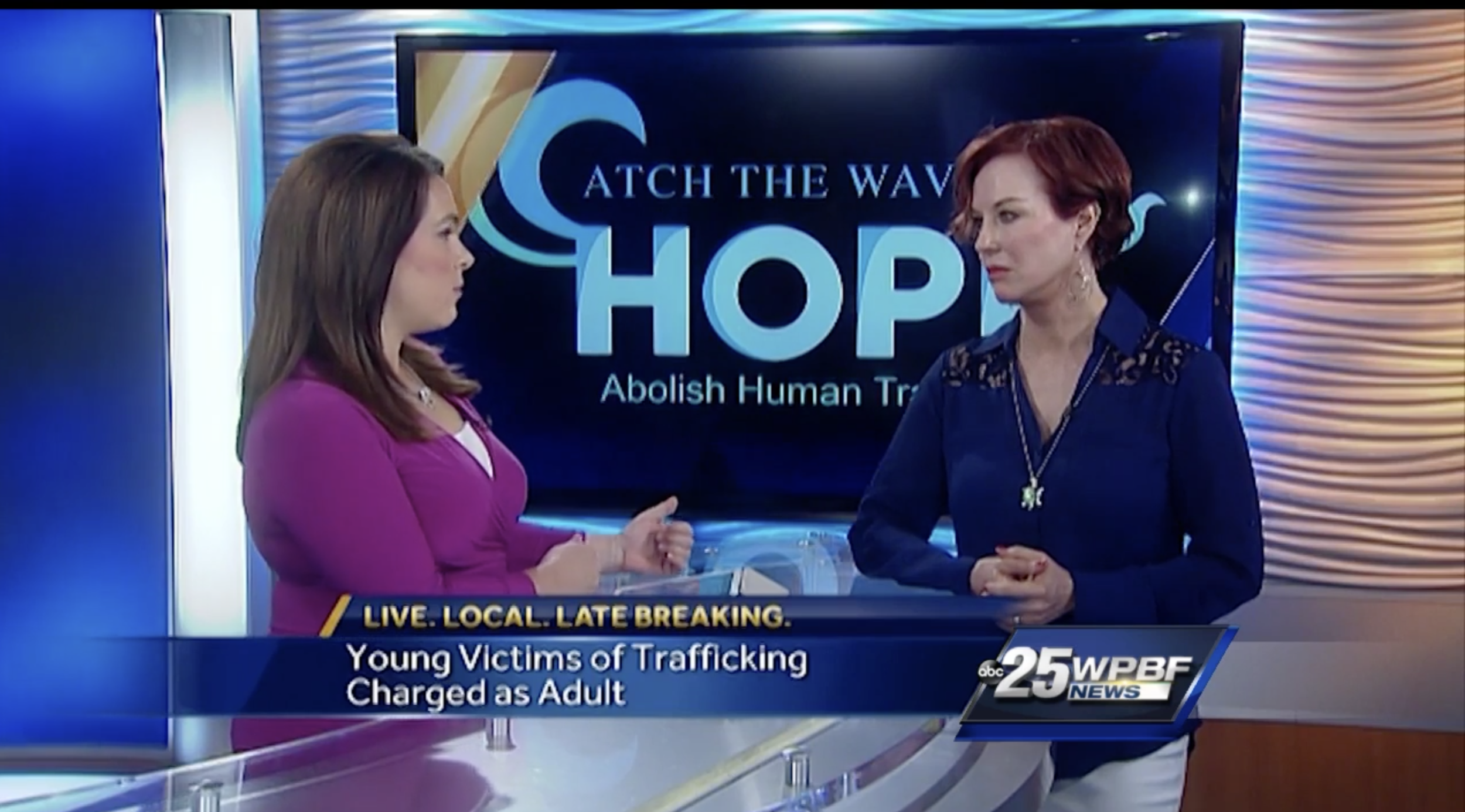 Press/Media — Catch the Wave of Hope — Abolish Human Trafficking