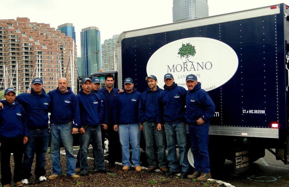 Morano Landscape Garden Design Ltd. Crew