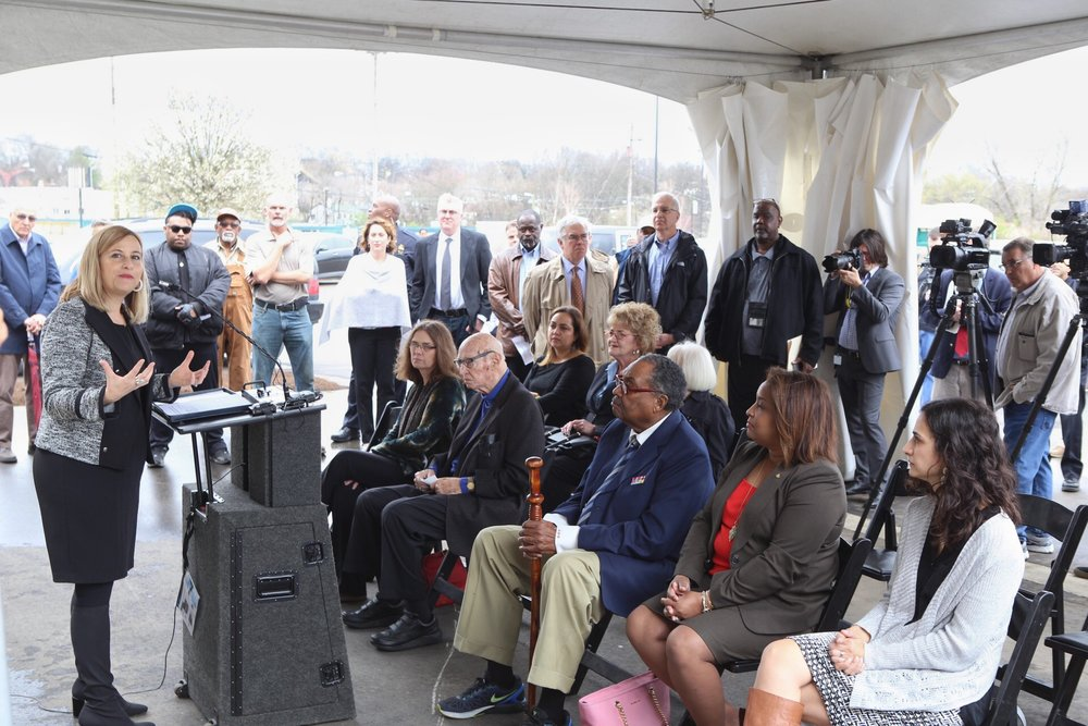 Mayor Megan Barry Speaking to Audience - Roland's Photography.JPG