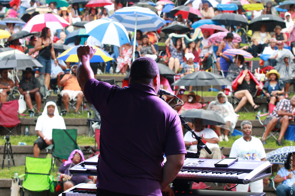 event marketing - Jefferson Street Jazz & Blues Festival