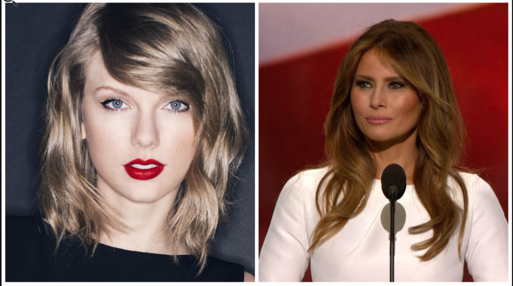 Melanie Trump, Taylor Swift MEPR Agency
