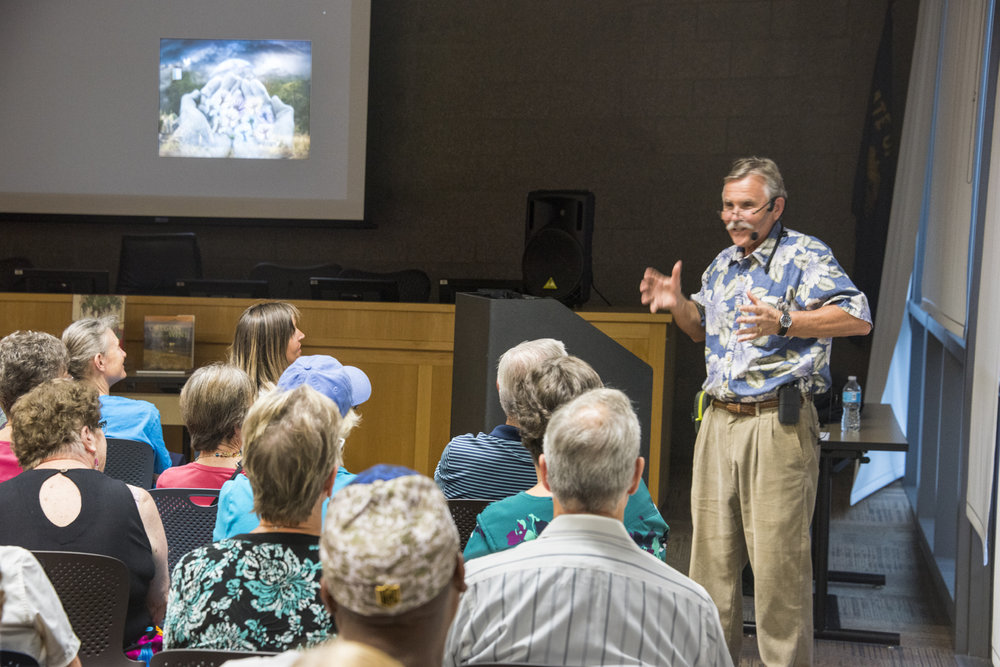 - Viewer commentsWe attended Janis Miglavs presentation at the library last night and were truly entertained as we learned things about his seventeen years in Africa to discover what is both different and but more importantly what we all have in common as humans.