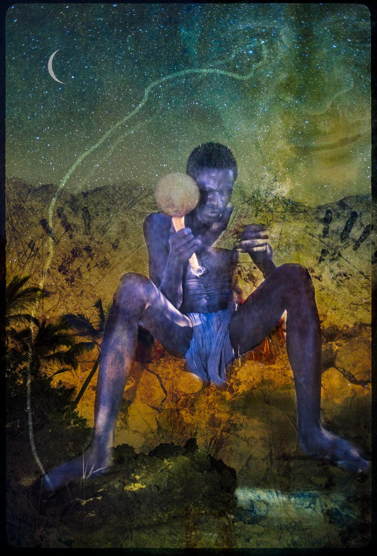Ancestor Enters Himba Shaman