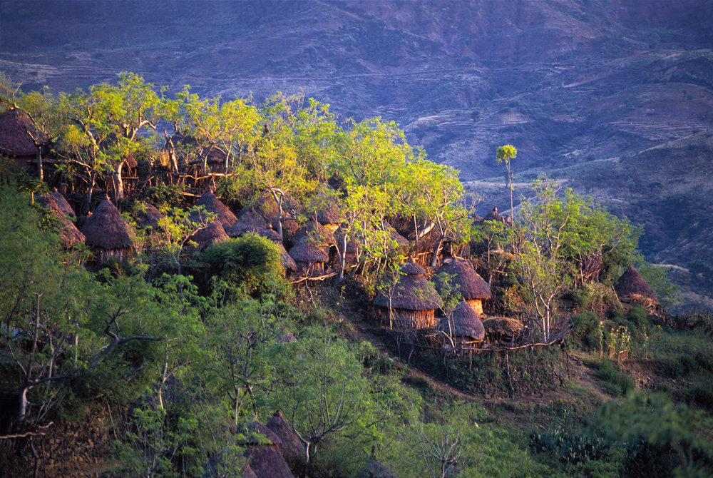 Konso tribe Busso Village