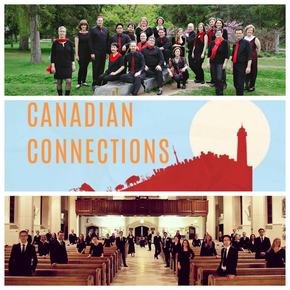 Capital Chamber Choir presents: Canadian Connections with Canadian Chamber Choir - Sunday, March 17, 3:00 PMSt. Joseph's Parish, OttawaPAYPAL CLOSED BUT YOU CAN PURCHASE TICKETS AT THE DOOR (CASH ONLY)