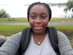 Lesley Ofori Antwi, Bayside High School Student