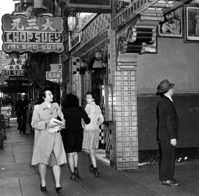 San Francisco in 1944 featured plenty of Chop Suey joints.