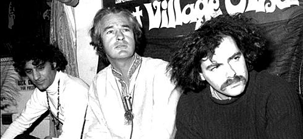 Abbie Hoffman, Tim Leary and Jerry Rubin in the mid-sixties.