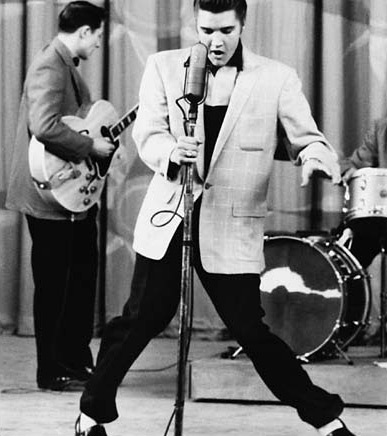 The way Elvis used his hips appeared scandalous to some, exciting to others.