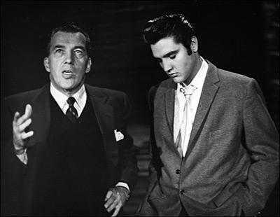 Ed Sullivan featured Elvis on his highly popular television program.