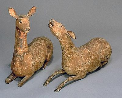 Sacred Deer of Kasuga Shrine Japan, Kamakura period, 1185-1333, 13th century Sculpture Wood