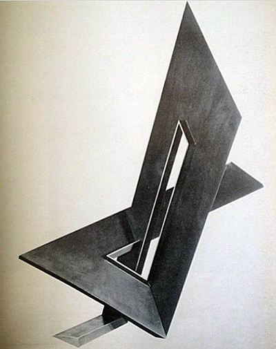 A 1966 sculpture by Anthony Magar.