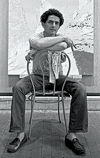 Artist Irving Petlin in 1966.