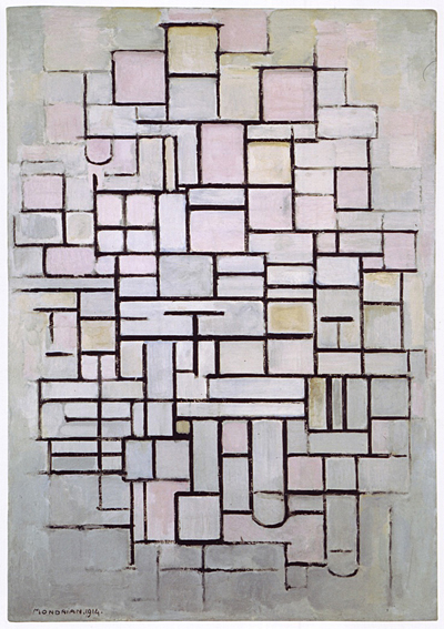 Piet Mondrian, Composition, 1914