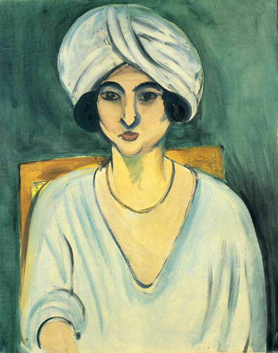 Woman with a Turban  by Henri Matisse.