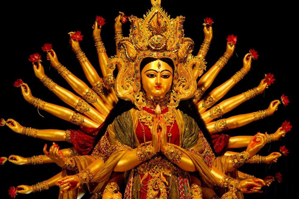 Representation of the Hindu Goddess Durga