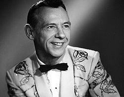 C&W singer Hank Snow.