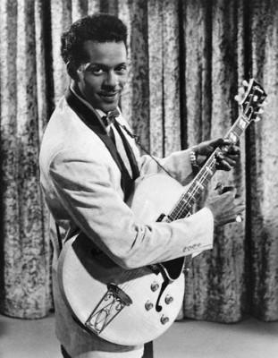R&B star Chuck Berry.