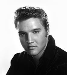 Mega-Star Elvis Presley.