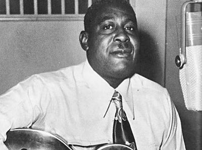 "Arthur ""Big Boy"" Crudup was an early 50s r&b""race music"" star, and had a major influence on Elvis Presley."