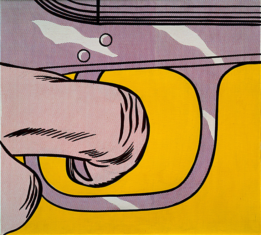 Trigger Finger  by Roy Lichtenstein, 1963