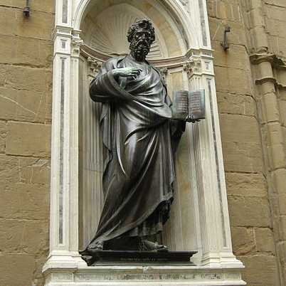 St. Mathew by Ghiberti