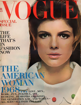 Katherine Ross was on the cover, but Kurt's article did not make it inside.