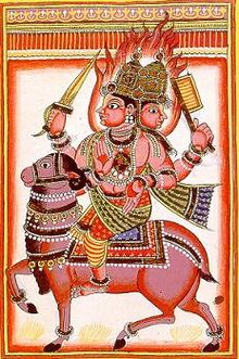 Agni - The fire god of Vedic India