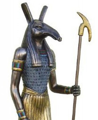 Set, the mythical Egyptian god