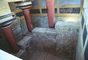 The lustral basin at Knossos