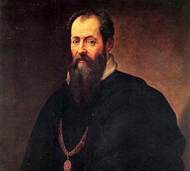 Historian and artist Georgio Vasari (1511-1574)