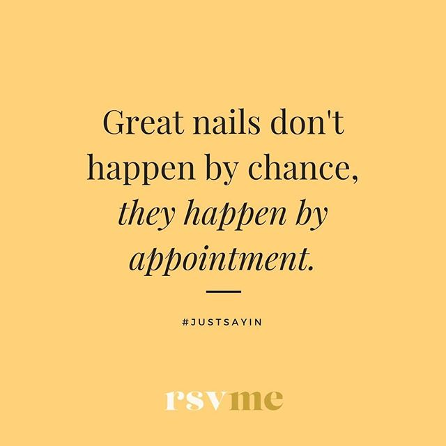 Download the RSVMe app today and get $10 FREE credit when you book your first nail appointment. #rsvme