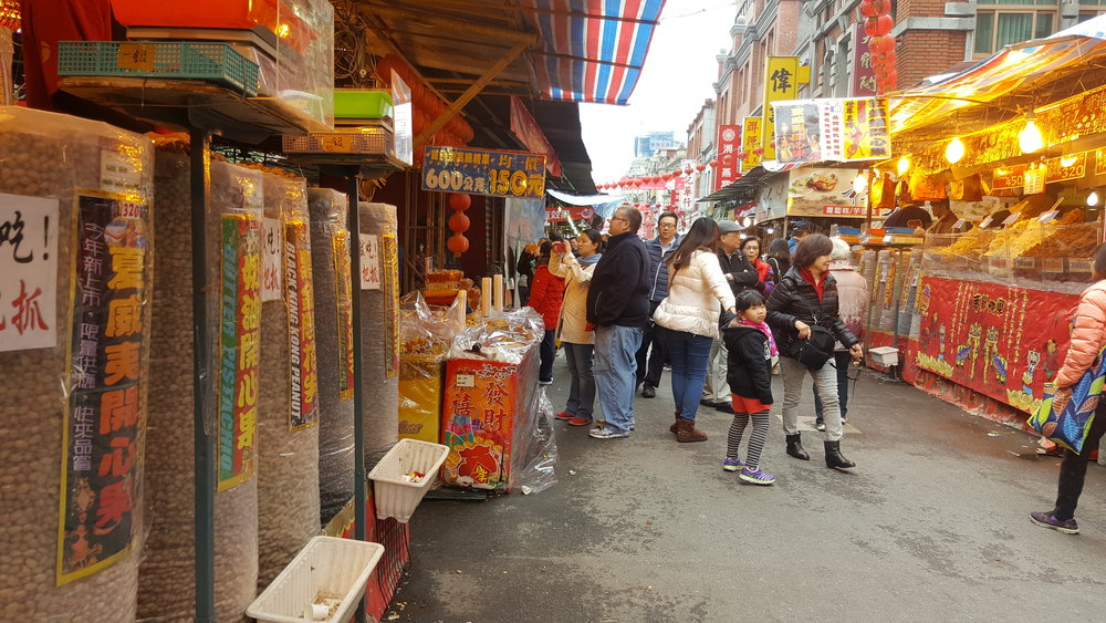 dihua street, taipei