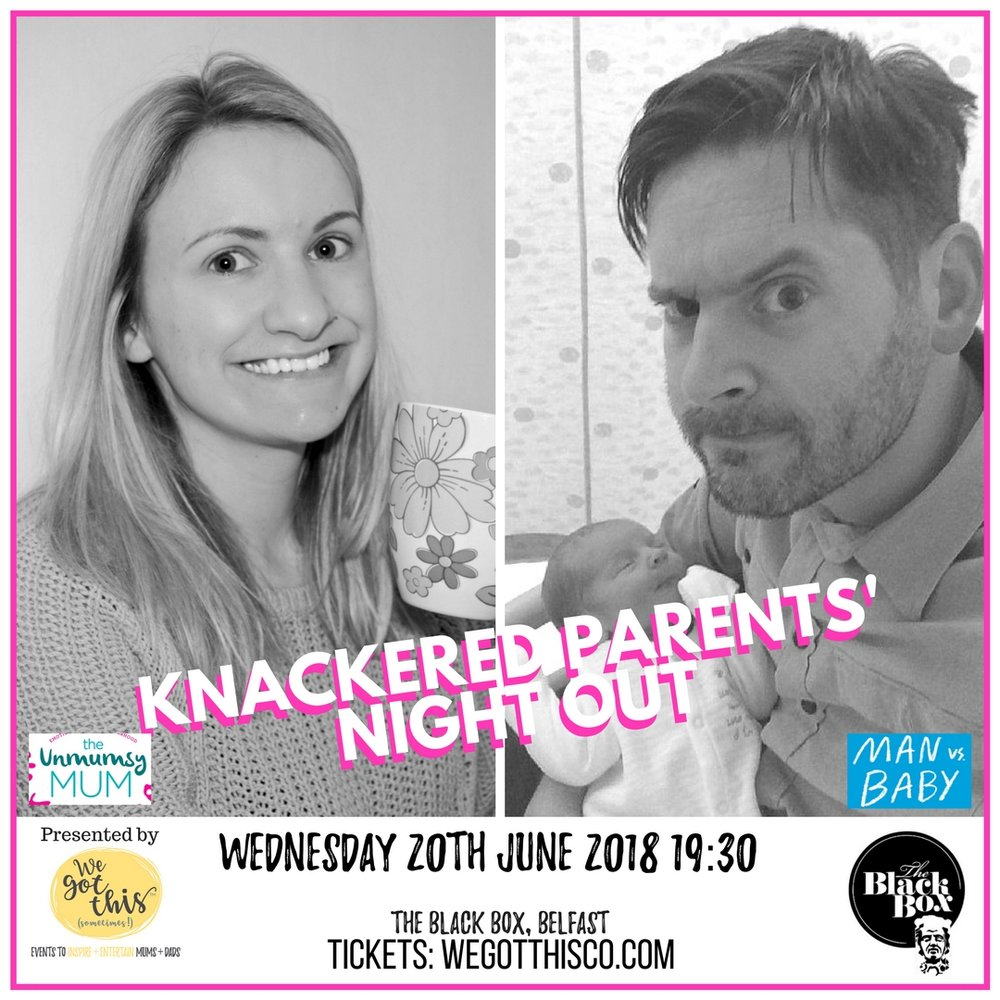 The Unmumsy Mum & Man vs Baby - Come and hear from Sarah Turner (The Unmumsy Mum and Matt Coyne (Man vs Baby) as they chat parenting, life, books and everything in-between!