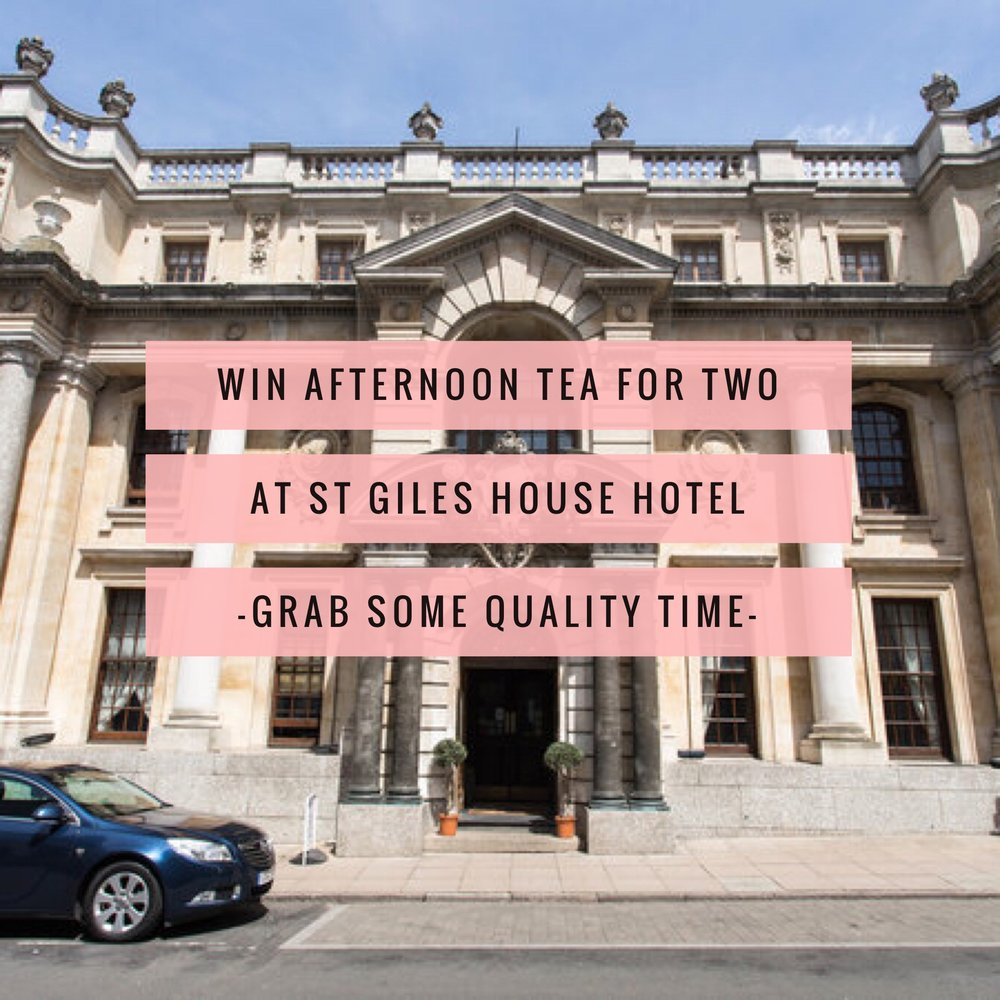win afternoon tea at st giles house hotel