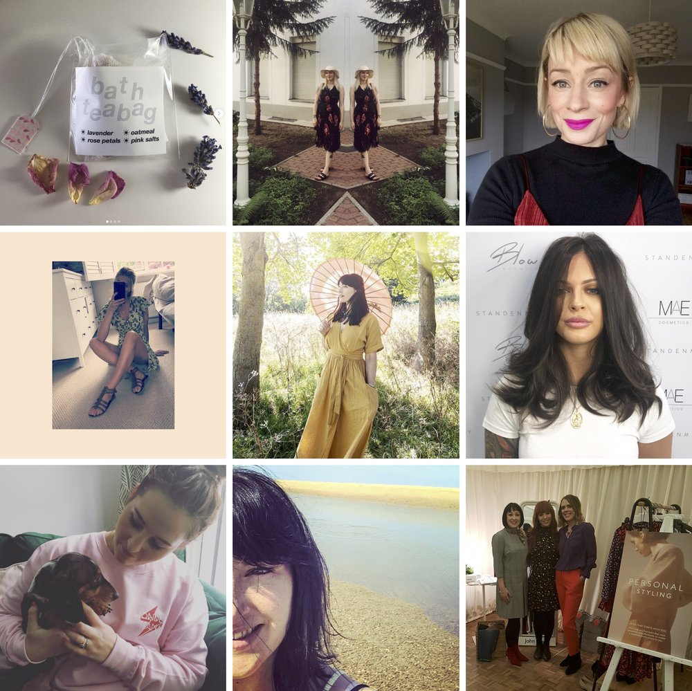 So excited about how  @fash_reboot  is shaping up! Here are just SOME of the stylish peeps booked in for our second Norwich event...🙌🏻💁🏽‍♀️ It's Fri 28 Sept  @stjohnscathedral_narthex  ✨Only £5 to enter ✨Free  @adnams  gin and tote for first 100 guests✨Fashion lovers pictured are 🥁 @giftsfromlilymae   @newuswapshop  (see their latest post for an incredible event they're planning for Nov)  @norfolkretro   @the_long_blonde   @tamsynmorgans  The  @standenmay  and  @blow.norwich  team will do plaits, messy pony tails, hair ups and quick tonging ✨  @mother_merch   @vickygrigg  John Lewis Style Team  @jl_laurar  SPONSORED BY  @dippleandconway  🙌🏻😘❤️