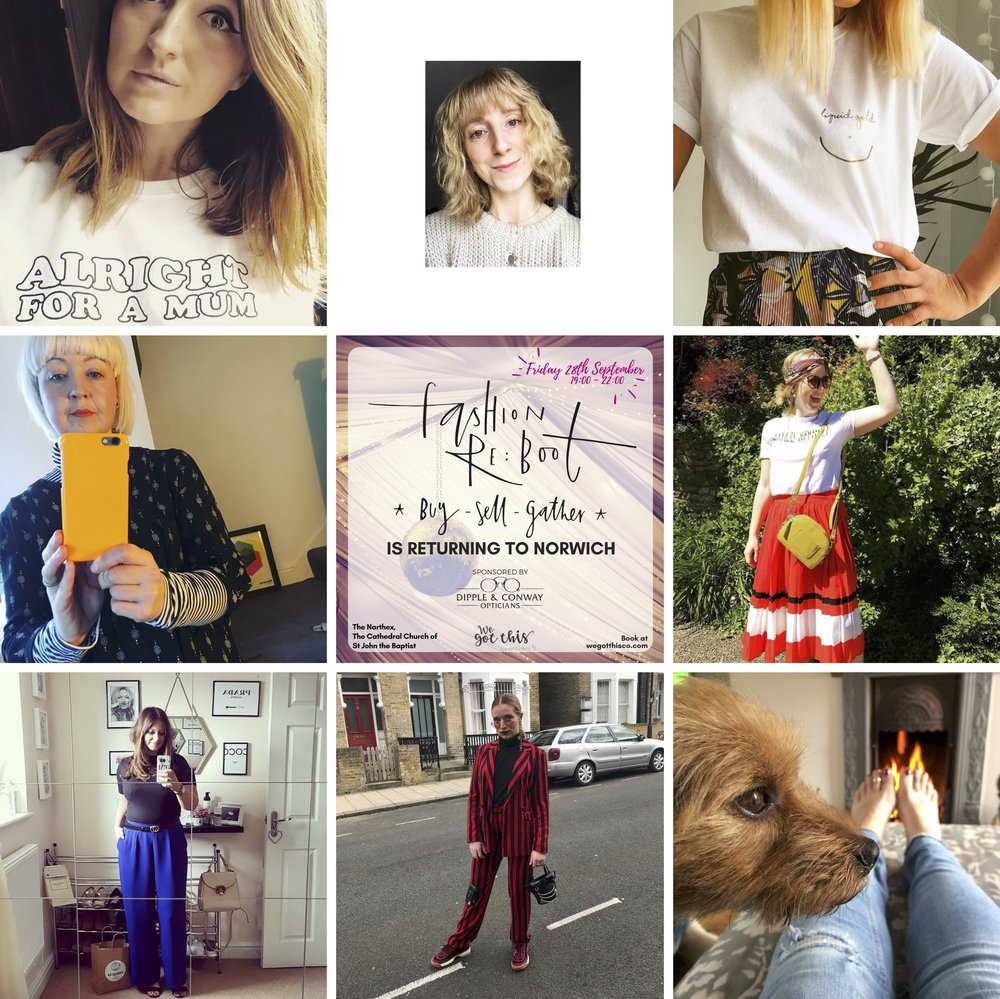 Some more of the stylish women who've taken pitches  @fash_reboot  🙌🏻 👀  @mostlymissp   @marthacoomber   @thenightfeed   @aannabelle1   @alittlebitfrench_  @traycwoo  who is bringing FIFTY FABULOUS FROCKS TO SELL  @geegirl.uk  @welliesandskirts  - cannot wait! ✨✨✨✨✨✨✨✨✨Fashion stylists, bloggers, editors are selling pre-loved clothes at a fraction of the retail price👏🏼