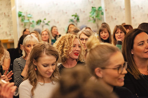 Guests at the Sali Hughes and Sam Chapman October  event  (pic by Emily Gray Photography)