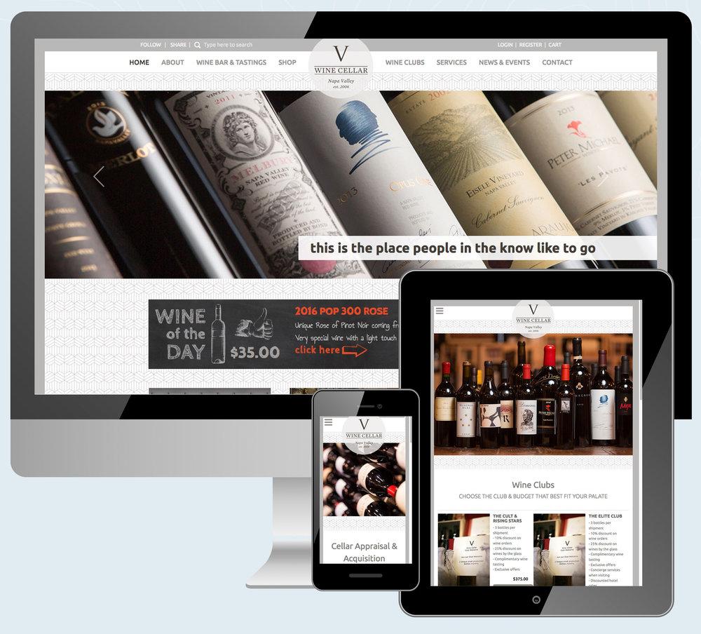 V Wine Cellar